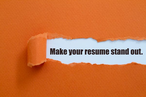 What makes a good resume AM
